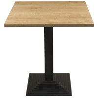 Forest Oak Complete Mayfair Step 60cm Table
