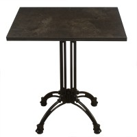 Baltic Granite Complete Square Continental 2 Seater Table