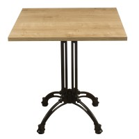 Forest Oak Complete Square Continental 2 Seater Table