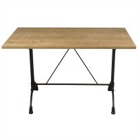 Forest Oak Complete Continental 4 Seater Table