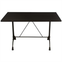 Wenge Complete Continental 4 Seater Table