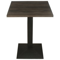 Dark Oak Complete Mayfair Step 60cm Table