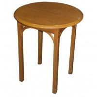 Lightwood Round Drinks Table