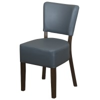 Belmont Grey Faux Leather Restaurant Chairs