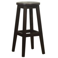 Brighton Solid Wood Bar Stool Walnut