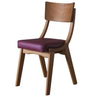 Ripple Oak / Wine - Restaurant Dining Chairs