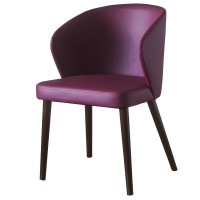 Ritz Walnut / Wine Armchair