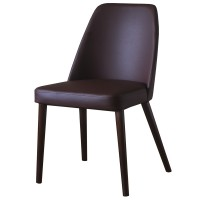Ritz Walnut / Brown Side Chair