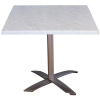 Used Fliptop Outdoor Table Marble Effect