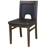 Windsor Side Chair Walnut / Black