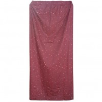 Red Long Drop Curtains