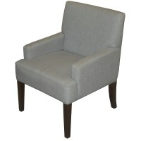 Grey Upholstered Tub Chairs