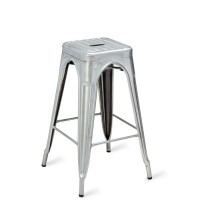 Eiffel High Stool - Galvanised