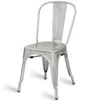 Eiffel Side Chair - Galvanised