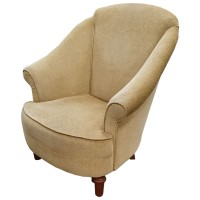 Used Beige Tub Chair