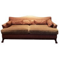 Ex Hotel Large Lounge Sofa Fabric Upholstered