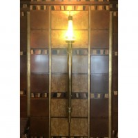 Large Brass Decorative Wall Lighting
