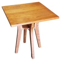 Four leg wooden table