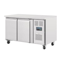 Polar Double Door Counter Fridge 228Ltr