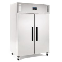 Polar Upright Double Door Freezer 1200Ltr