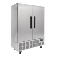 Polar Double Door Slimline Fridge 960Ltr