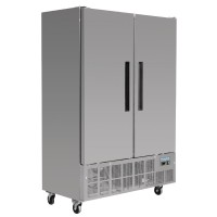 Polar 2 Door Slimline Freezer 960Ltr
