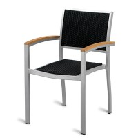 Outdoor Aluminium & Weave Arm Chair