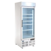 Polar Upright Display Freezer 412Ltr White
