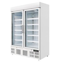 Polar Upright Display Freezer 920Ltr White