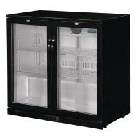 Polar Back Bar Cooler with Hinged Doors 198Ltr