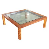 Ex Hotel Large Square Coffee Table