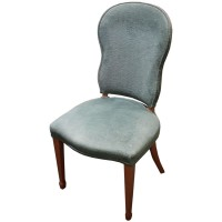 Ex Hotel Fabric Upholstered Side Chair