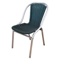 Green Outdoor Stacking Chair