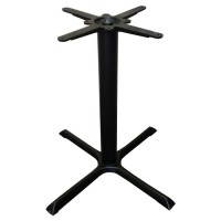 Used table base, cast iron, dining height, crucifix style