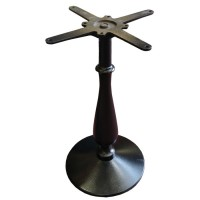 Used table base, black cast iron, southwold style, dining height