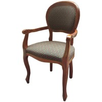 Traditional Style Arm Chair
