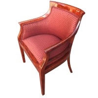Luxury Solid Wood Tub Chair