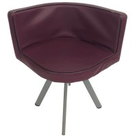 Used Purple Tub Style Chair