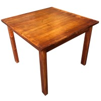 Used 4 Seater Square Restaurant Table. Top Size 94cm x 94cm