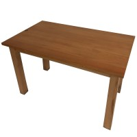 Solid Wood 4 Leg 4 Seater Table