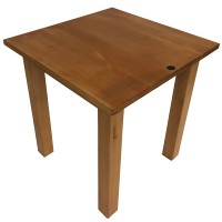 Solid Wood 4 Leg 2 Seater Table