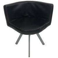 Used Black Tub Style Chair