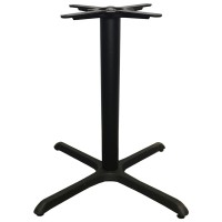 Black Cast Iron Table Base