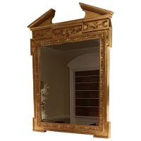 Ex Hotel Large Gilded Framed Decorative Mirror