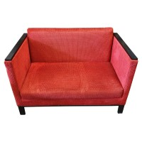 Modern Cube Style Two Seater Sofa