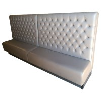 Large Button Back Bench Seating