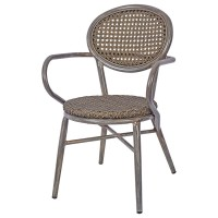 Lille Outdoor Arm Chair - Grey