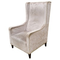 Luxury Upholstered Modern Arm Chair