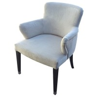 Luxury Cream Upholstered Armchair