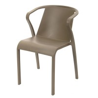 Madeira Stackable Outdoor Armchair - Taupe